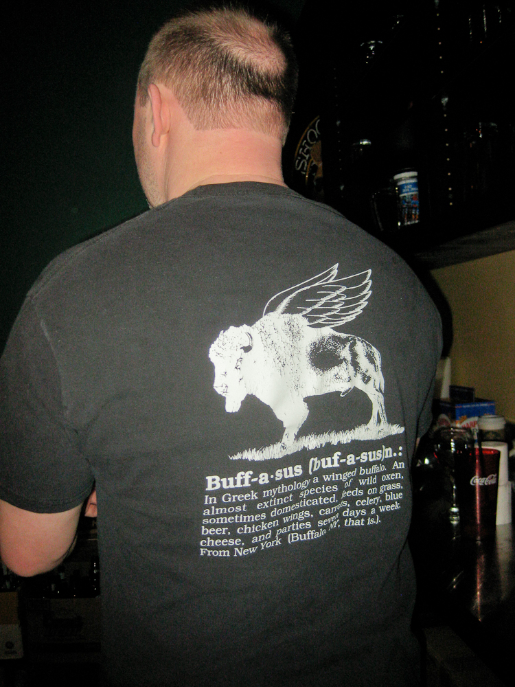 DJs Buffalo Wings T-shirt