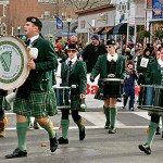 Brian Boru Pipe Band Christmas Parade