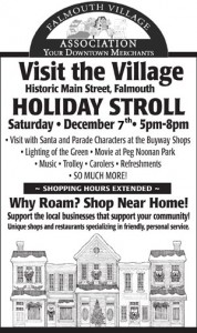 Holiday Stroll Flyer