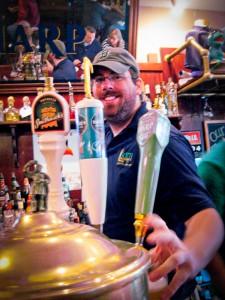 Cape Restaurant: Liam's bartender Rory