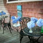 Staging the Hydrangeas, a Cape Cod B&B Welcome