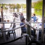 Cape Restaurant Shuckers: View of Eel Pond.