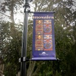 Banner for Signature Mosaic Show in Falmouth.
