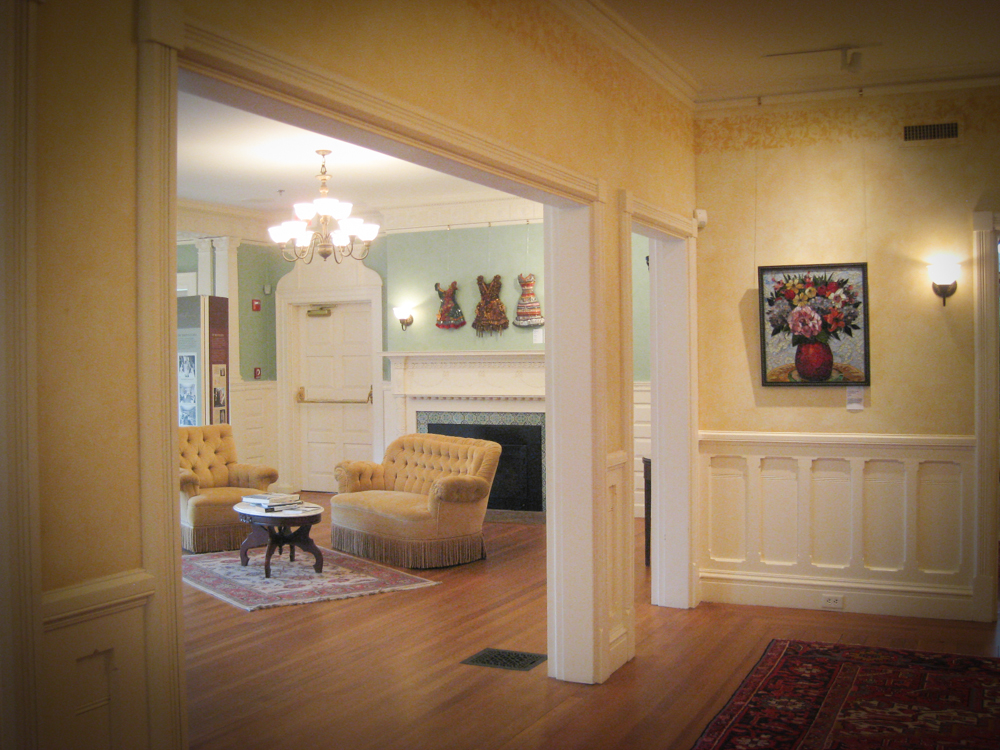 Signature Mosaic Show in hallway and room.