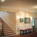 Main staircase and mosaics for Signature Mosaic Show