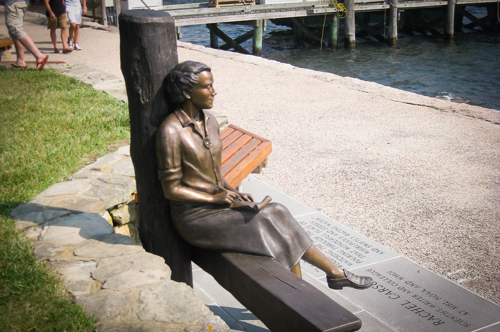 Woods Hole's Rachel Carson Memorial