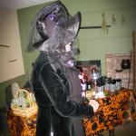 Mistress Goodie Chadwick at the Cape Cod haunted house.