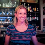 Emily, our bartender.