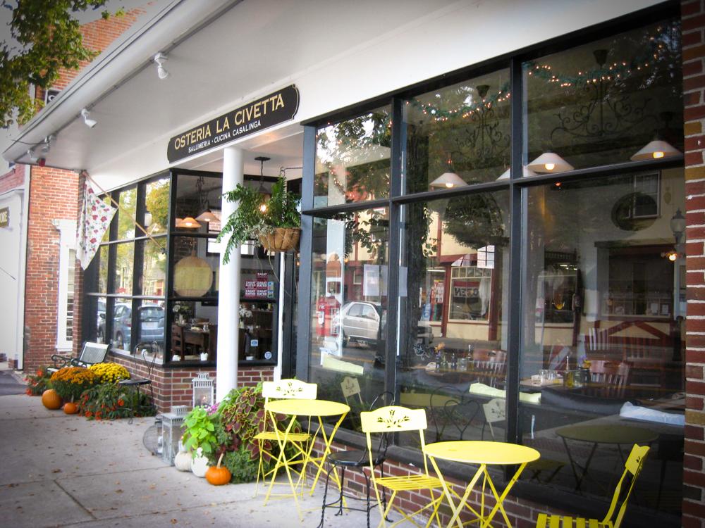 Cape Restaurant Review of Osteria la Civetta