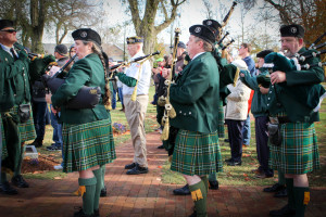 Pipe Band for Veteran's Day Ceremony
