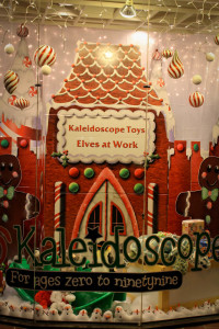 Kaleidoscope Toys Holiday Window