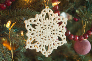 Snowflake on the Tree