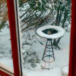 Blizzard Janice: warm Bird bath