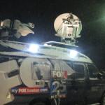 Fox News at Blizzard Janice on Cape Cod.