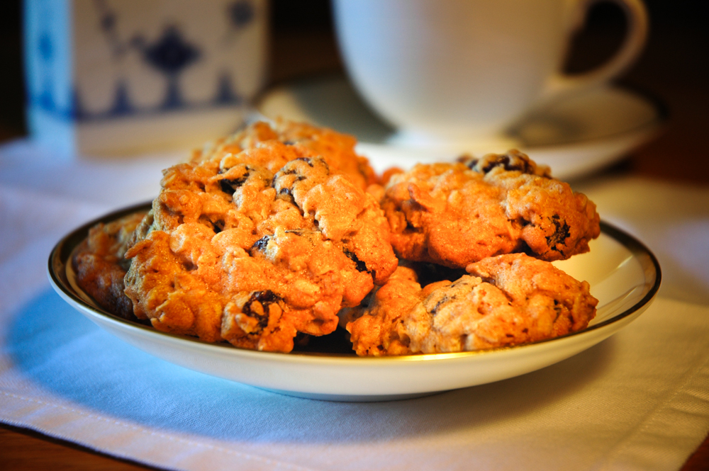 Pat O'Connell's Irish Oatmeal Cookies