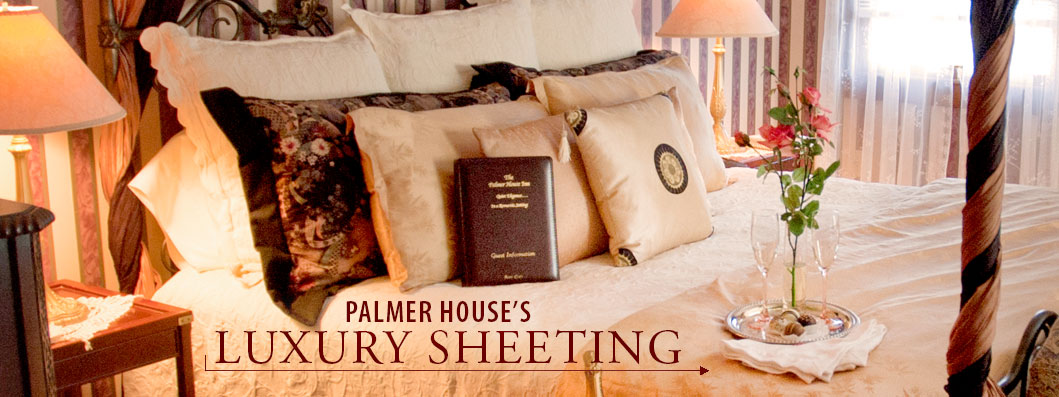 Palmer House Sheets in the Gift Shop