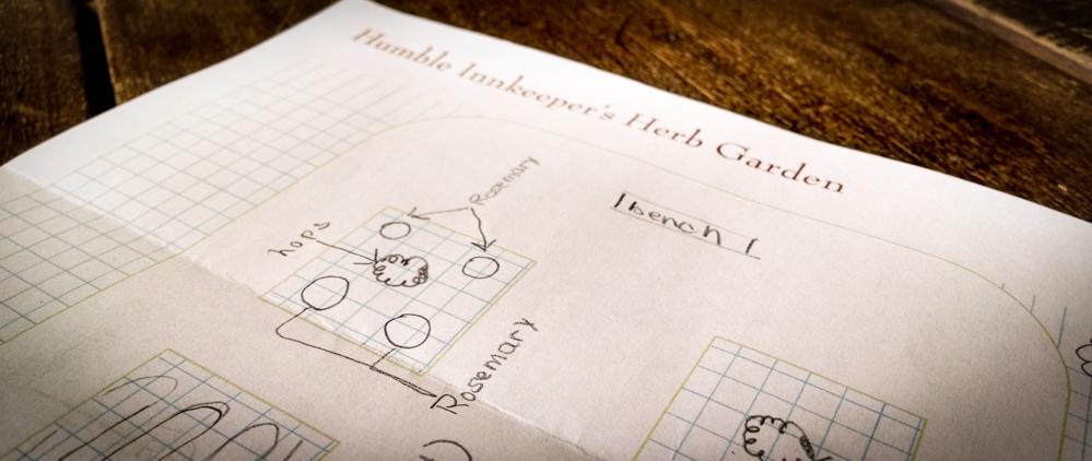 Cape Cod Herb Garden plan