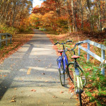 Shining Sea Bikepath in Autumn