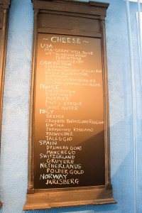 Bean & Cod Cheese Menu