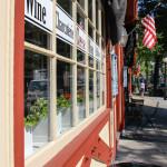 Main St. Sidewalk from Bean & Cod
