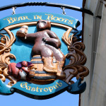 Bear in Boots Gastropub Sign