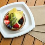 Fruit tart at Boulangerie Maison Vallette
