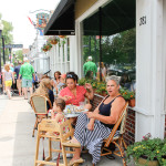 Parkside's Cape Cod sidewalk cafe