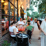 Osteria la Civetta sidewalk cafe