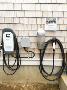 Tesla and EV sharging stations