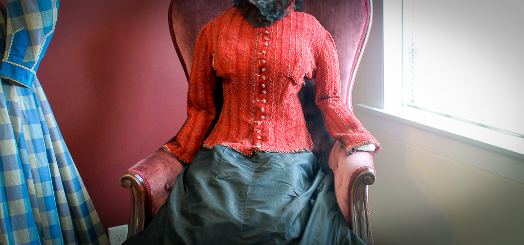 Historic Cape Cod: Victorian  blouse