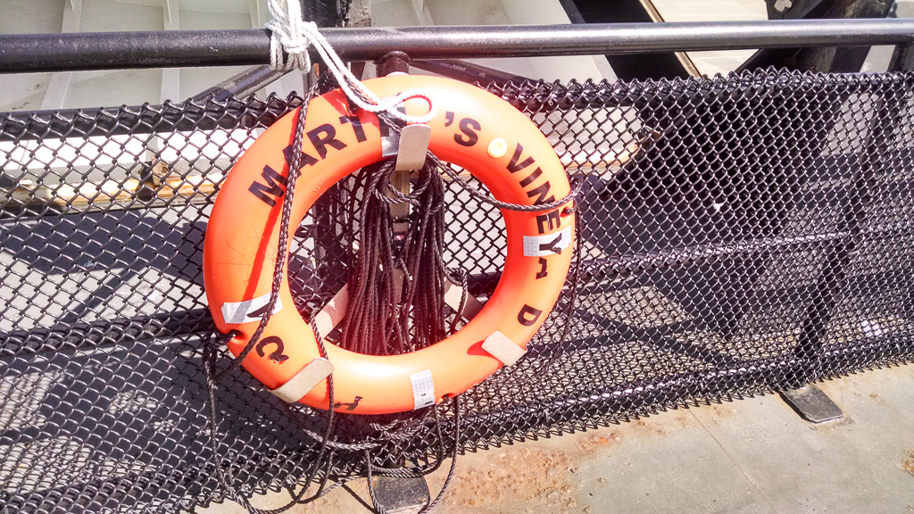 Lifesaver on the Martha's Vineyard Ferry