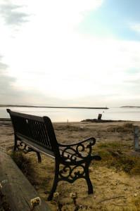 Provincetown, Cape Cod bench.