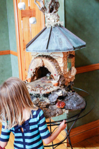 D and the Tooth Fairy House