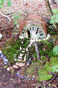 Glass Bead Fairy House at Highfield Hall