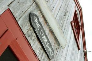 Clam Shack in Falmouth, Cape Cod, Massachusetts, USA.