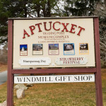 Cape Cod Museum Trail: Aptucxet Trading Post Sign