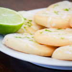 margarita cookies with lime icing