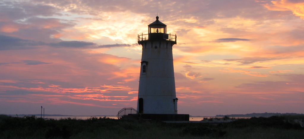 Edgartown Light at Dawn