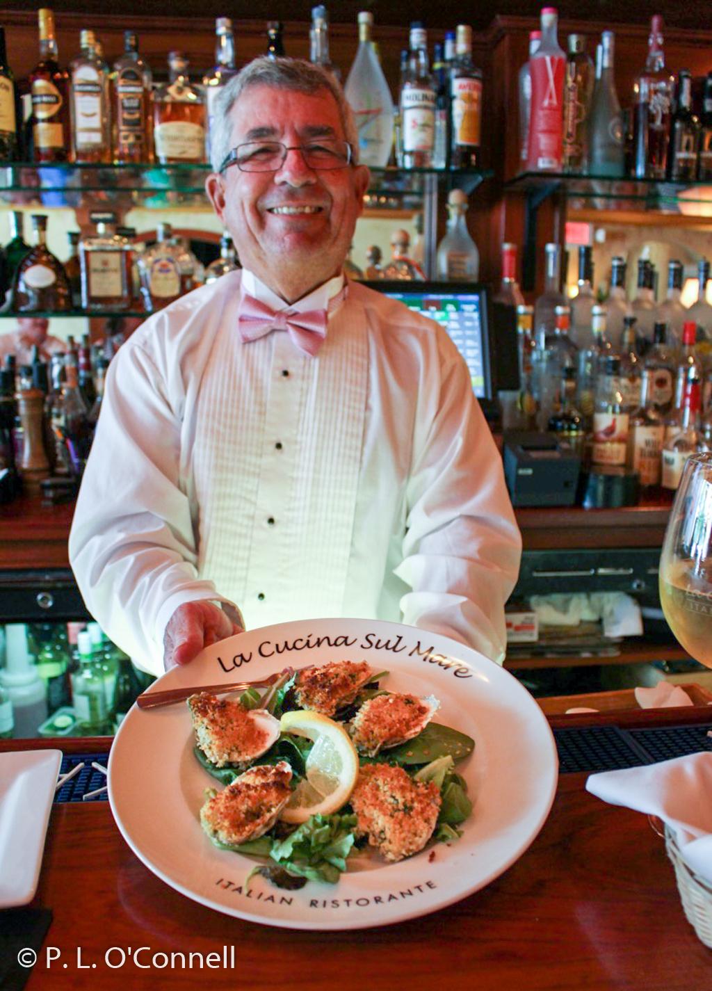 La Cucina's Oysters
