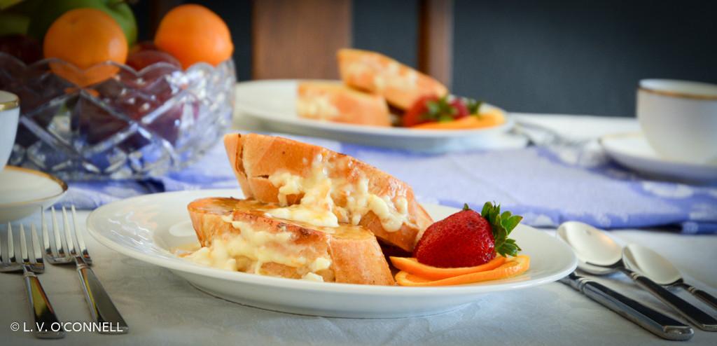 Marmalade Stuffed French Toast