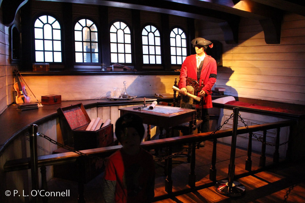 Whydah Pirate Museum exhibit