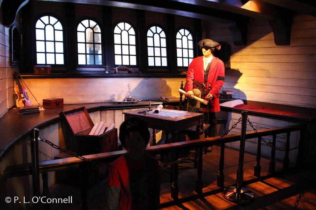 Whydah Pirate Museum exhibit