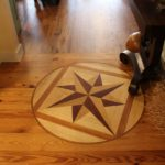 Cape Cod craftsmen inlayed floor