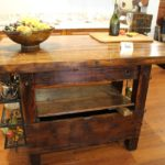 Cape Cod craftsmen kitchen island