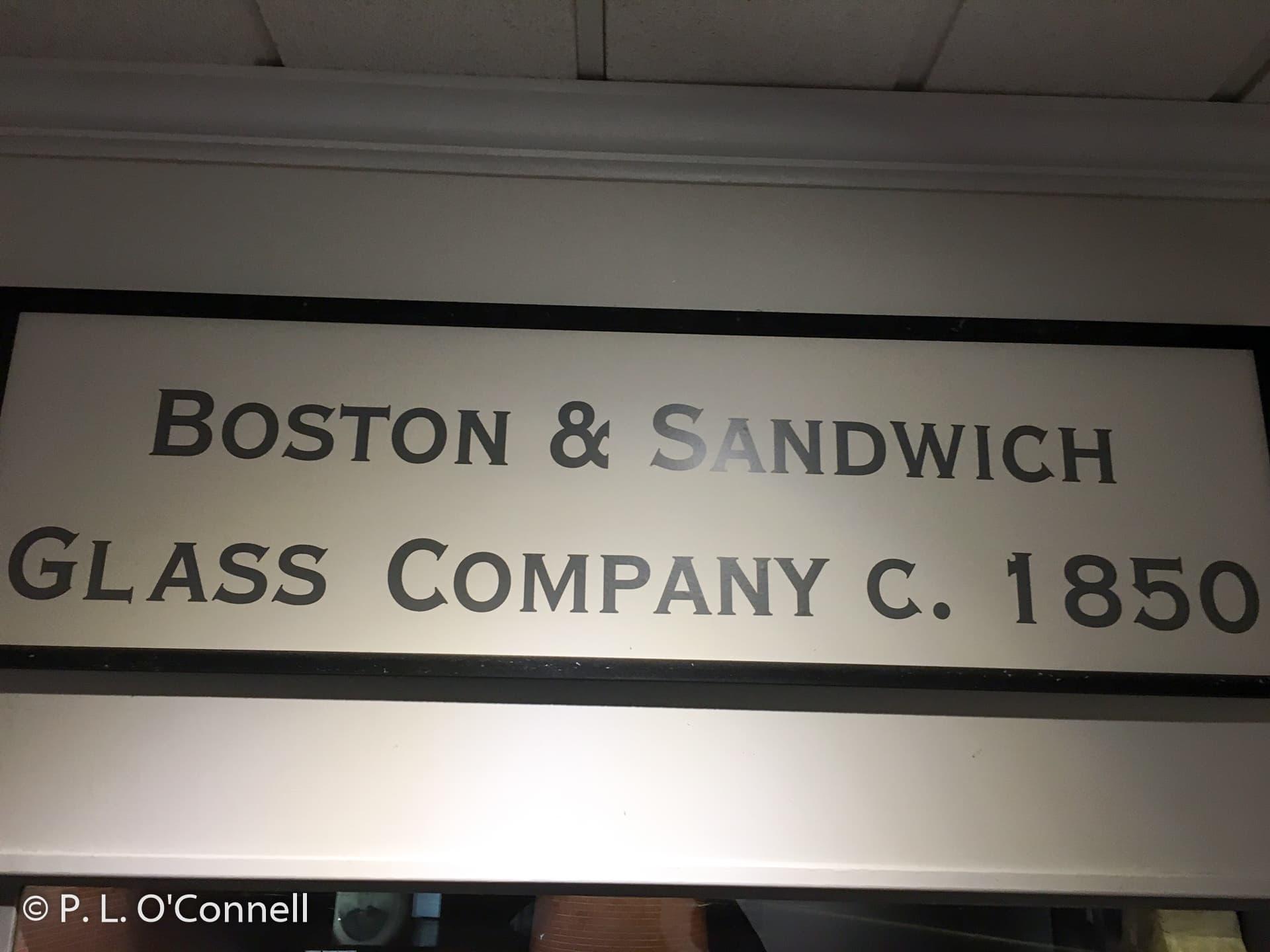 Cape Cod Glass Company Part - 42: Boston U0026 Sandwich Glass Company Sign At Sandwich Glass Museum In Sandwich,  Massachusetts, ...
