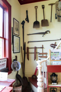 Railroad tools at Chatham Railroad Museum