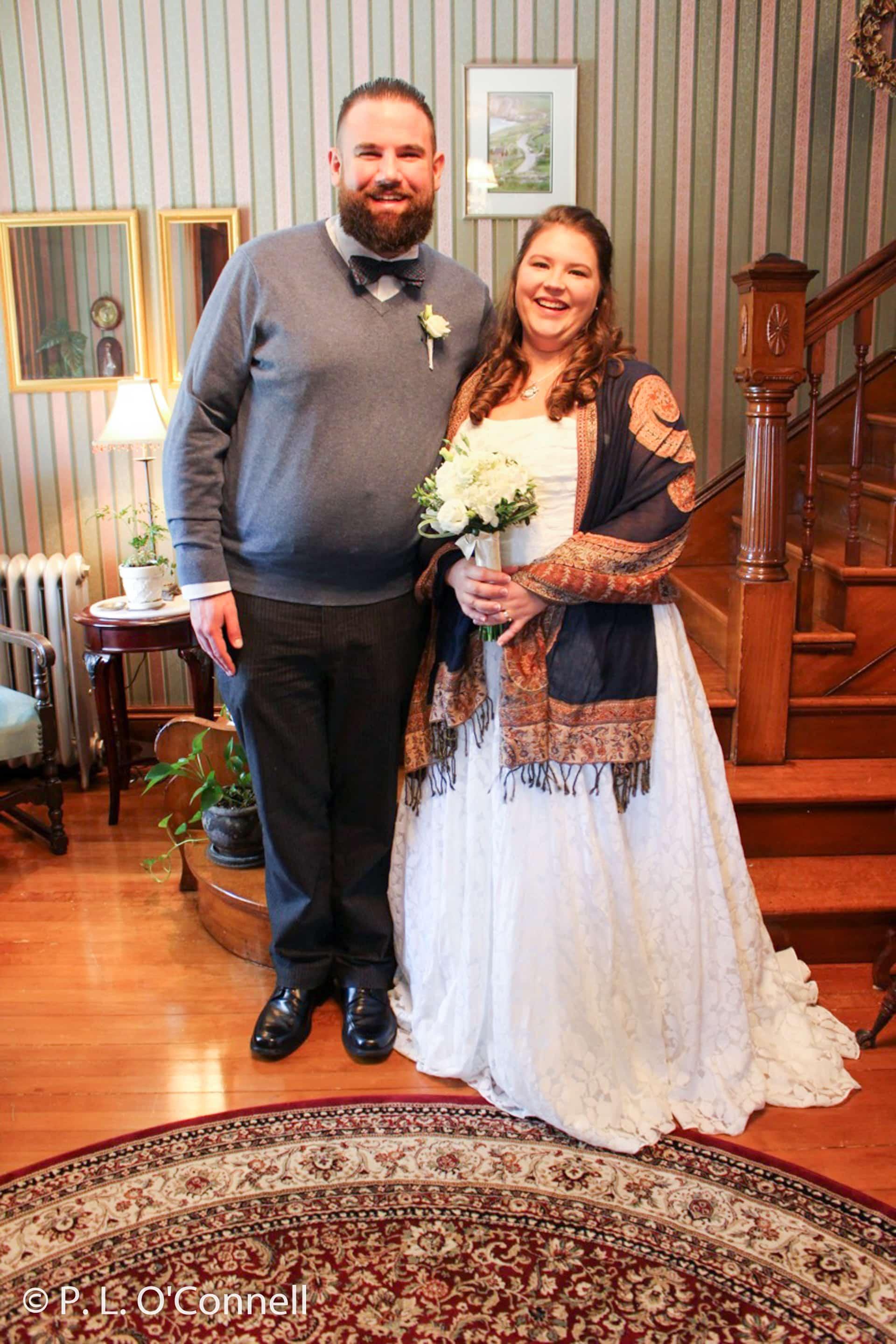Fall wedding at the Palmer House