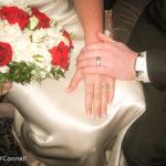 Beautiful winter wedding rings
