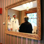 Winter Wedding on Cape Cod reflection