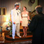 Winter Wedding on Cape Cod main staircase